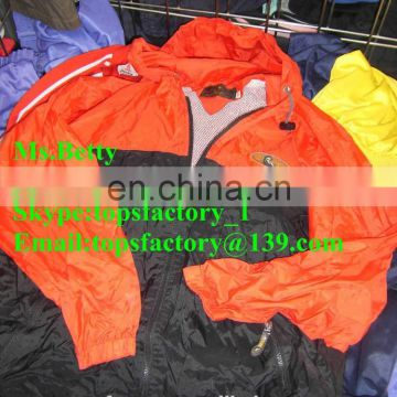 Cheap top quality second hand clothes sport