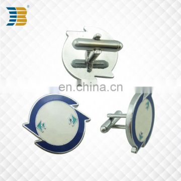wholesale custom painted zinc plating cufflink for men