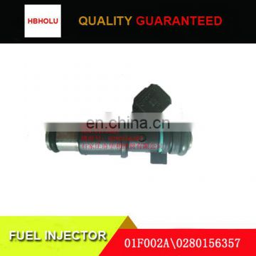 01F002A\0280156357 fuel injector for Peugeot 206