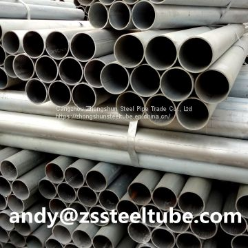 1 inch x 2- 2.5 mm Hot-dip Galvanized Steel Pipe/Tube for Fluid, Construction, Structure, Build