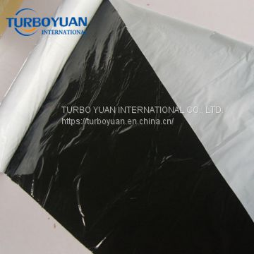 black and white agricultural mulching plastic film for strawberry