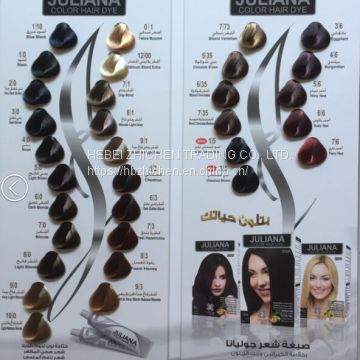Customized Hair Dye Catalogue Manufacture