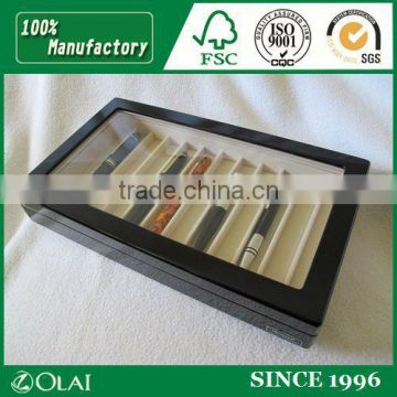 Classic wooden pen display box store use presentation box