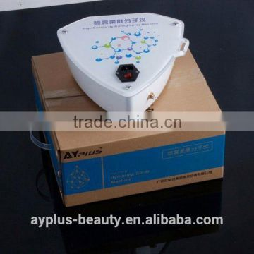 Oxygenated Water Machine AYJ-SS03B Hot Sale Skin Peeling Machine For Face Whittening Intraceuticals Oxygen Facial Machine For Beauty Salon