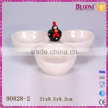 Factory direct sale ceramic dessert dishes