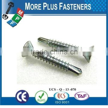 Made In Taiwan Phillips Trumpet Head Sharp Point Drywall Screw Phillips Bugle Head Self Drilling Point Drywall Screw