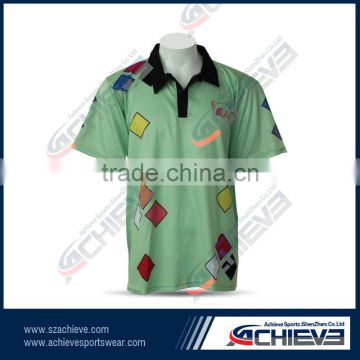 China wholesale full hand customized cricket jersey design