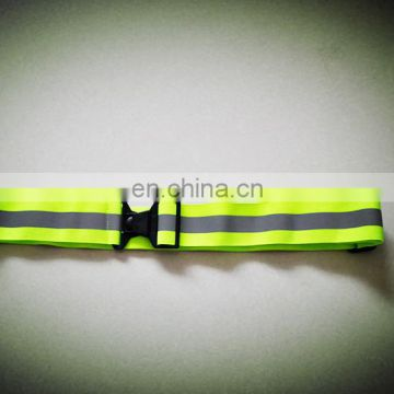 climbing Reflective changeable safety belts with 100% ployester