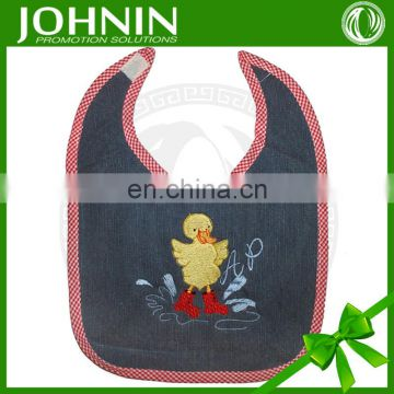 2015 OEM High Quality Customized Soft Plain Baby Bib