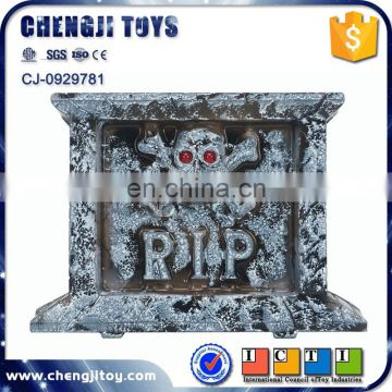 Halloween party decoration creepy flashing tombstone