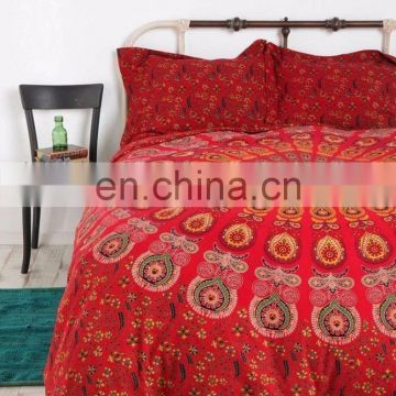 Indian Mandala Duvet Cover Doona Cover Cotton Quilt Cover Throw Blanket Cover