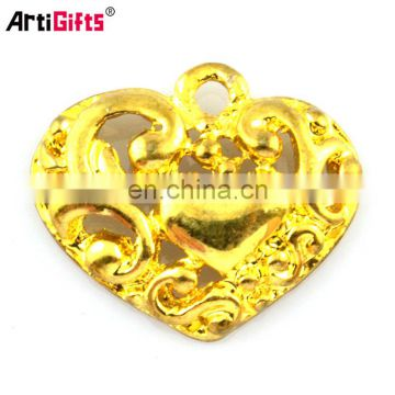 gold plated pendant charms