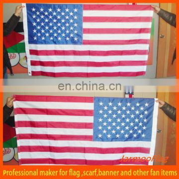 custom decorative embroidered flag