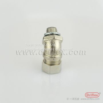 Nickel Plated Brass 45d Connector for Machining centers and robotics