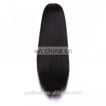 Grade 7A Virgin Hair human lace front wigs With baby hair Virgin Brazilian Straight Glueless Lace Front Wig