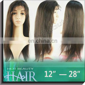 Ample supply and prompt delivery human hair silk top wigs