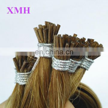 Wholesale price for white women Brazilian I tip human hair extension
