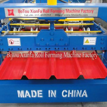 Metal Thin Panel Roof Tile Forming Machine