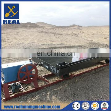 Gold shaking table mineral separation vibration shaker table