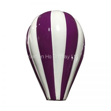 Ho Display Custom Decoration Visual Display Props Fiberglass Hot Air Balloon Decor