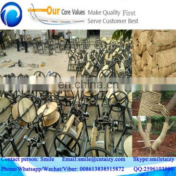 low energy consumption small straw corn silage rope making machine with lower price