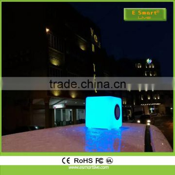New arrival! portable smart touch lamp LED bluetooth speaker,with TF card play