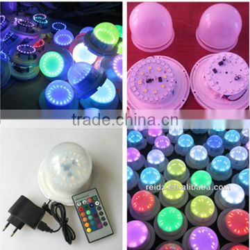 Rechargeble battery operated remote controlled under table led light