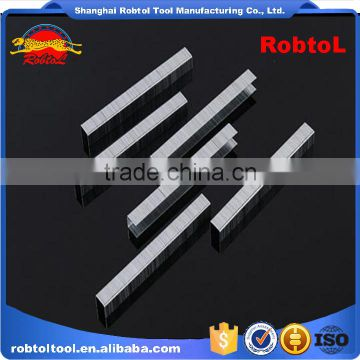 Puneumatic Nailer Staple wood furniture 8mm U Shape Stape Pins Gauge Silver Galvanized Code Nail Carton Seal Pin