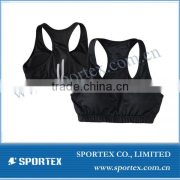 Functional Xiamen Sportex sports bra top, ladies sports bra top, ladies top OEM#13113