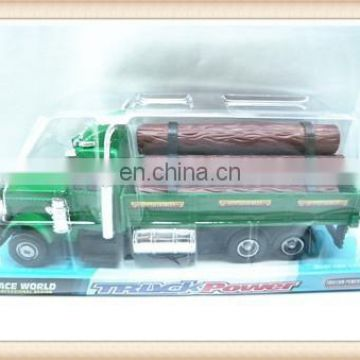 plastic utility track vehicle logging farm truck toy