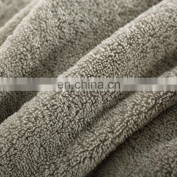Solid color luxury quality 100% Cotton Hotel Towel