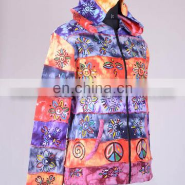 Colorful Bodhi Symbol Bohemian Hoodies & Jacket CSWJ 439