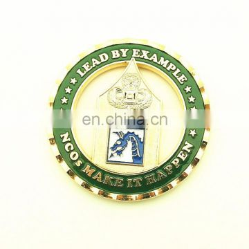 Zinc Alloy OEM Customize Coin Gold Plated
