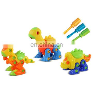 Dinosaur Toys, STEM Learning, Take Apart Fun , Construction Engineering Building Play Set For Boys Girls Toddlers, Best Toy Gift