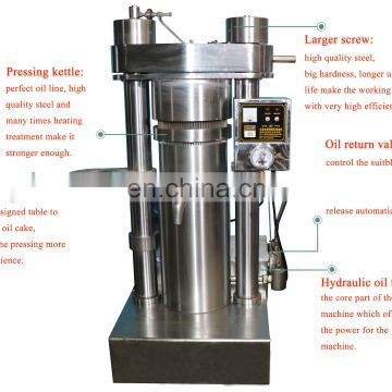 Hot sell hydraulic sunflower oil making machine