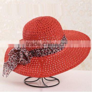d9f0196495c QXSH0055D Red strip straw beach hat for women Fedora of Straw hats ...