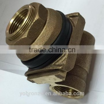 pitless adapter for water well casing pipe deep well water pump