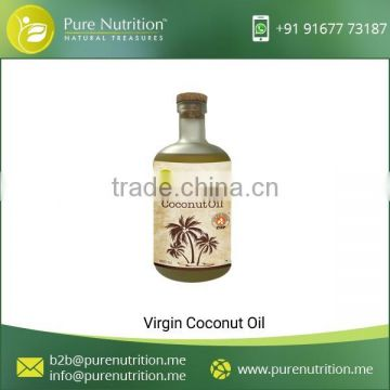 Vitamin Rich Raw Coconut Oil for Food Industries