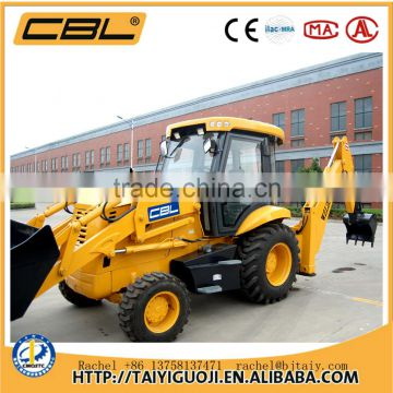WZL25-10A China mini cheap harvester pickup backhoe loader for sale