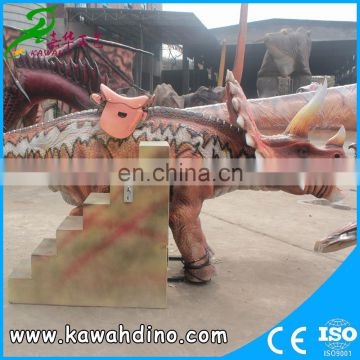 2016 Promotion dinosaur rides decoration adventure park for kids