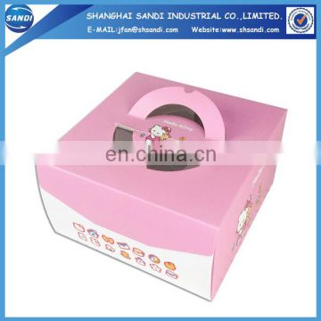 Custom disposable printing food paper box