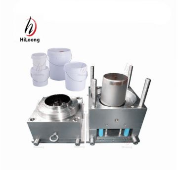 steel mould taizhou plastic injection painting bucket mold