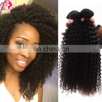 Best Selling Best quality virgin Brazilian Kinky Curly Hair virgin hair extension