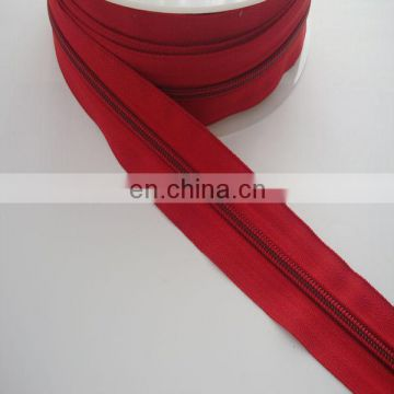 Zipper manufacturer no.5 nylon zipper for various garment