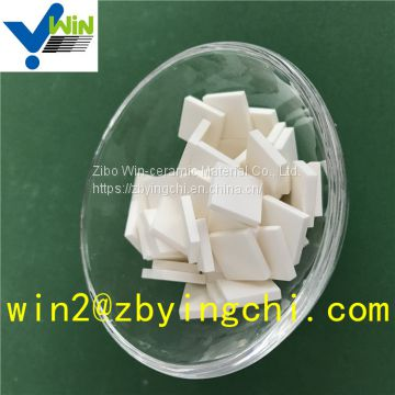 92% platinum catalyst white alumina mosaic tile abrasive materials