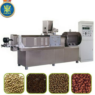 automatic animal feed pellet machine aquatic feed processing line steel feed machine