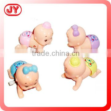 Cute wind up toys shaking crawling baby for kids