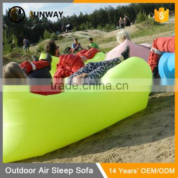 2016 Popular Beach Outdoor Relaxing Cheap Inflatable Sleeping Bag Sofa