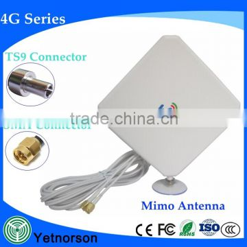 High gain sucker 4g lte antenna MIMO antenna for gsm 3g 4g