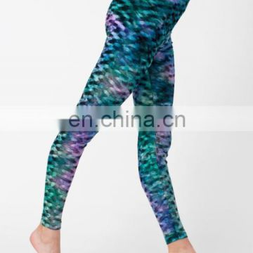 Fashion design sexy girls wearing plus size pink quick dry yoga pants